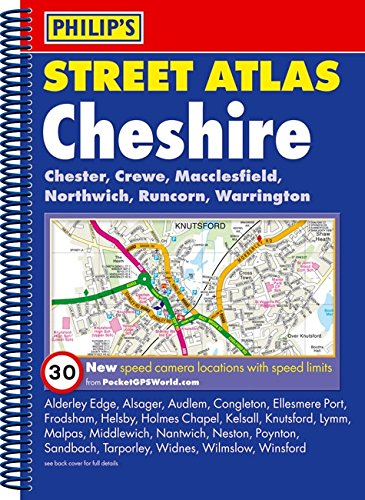 Philip's Street Atlas Cheshire by