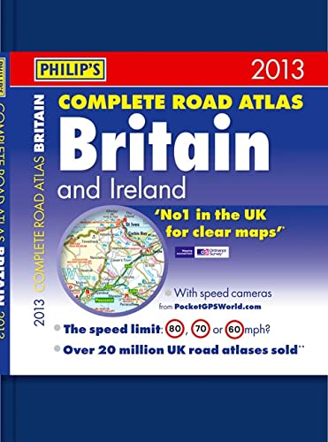 Philip's Complete Road Atlas Britain and Ireland By Philip's