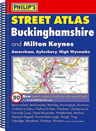 Philip's Street Atlas Buckinghamshire By Philip's Maps