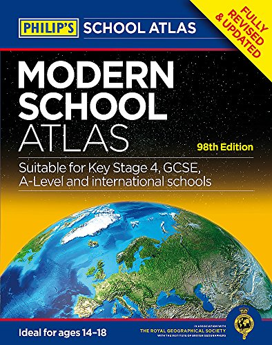 Philip's Modern School Atlas: 98th Edition (Philip's School Atlases)