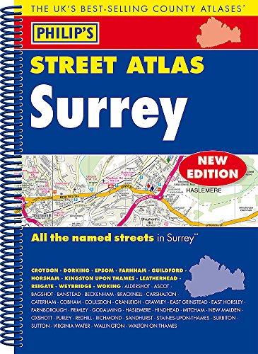 Philip's Street Atlas Surrey