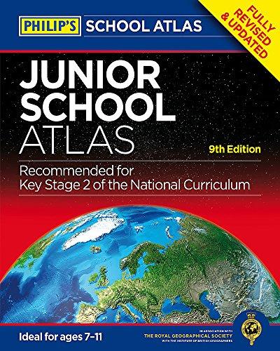 Philip's Junior School Atlas 9th Edition (Philips School Atlas)