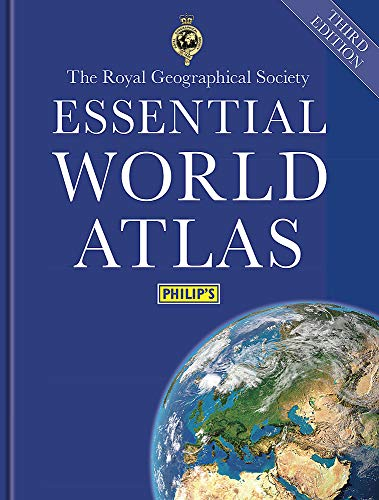Philip's Essential World Atlas (Philips Atlas) By Philip's Maps
