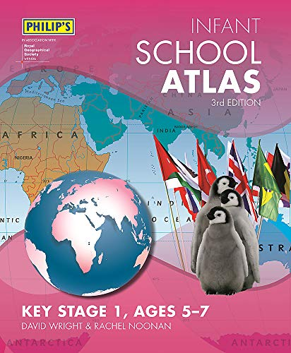 Philip's Infant School Atlas By David Wright