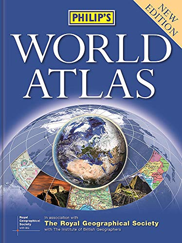 Philip's World Atlas: Hardback By Philip's Maps