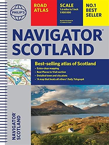 Philip's Navigator Scotland By Philip's Maps