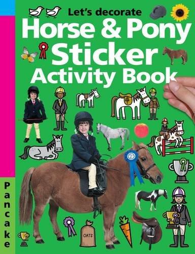 Horse & Pony Sticker Activity Book by