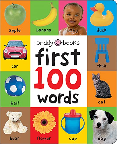 First 100 Words (Soft to Touch Board Books) (First 100 Soft To Touch) By Roger Priddy