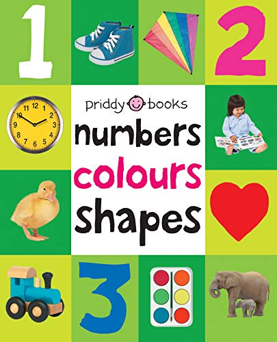 Numbers, Colours, Shapes (First 100 Soft to Touch Board Books) By Roger Priddy