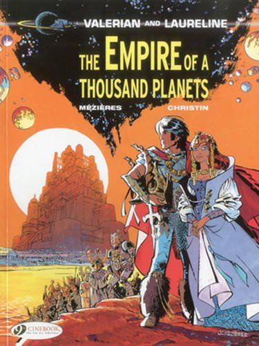 Valerian Vol.2: the Empire of a Thousand Planets By Pierre Christin