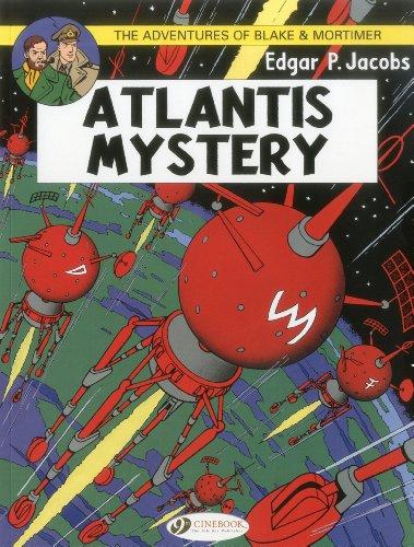 Blake & Mortimer 12 - Atlantis Mystery By Edgar P. Jacobs