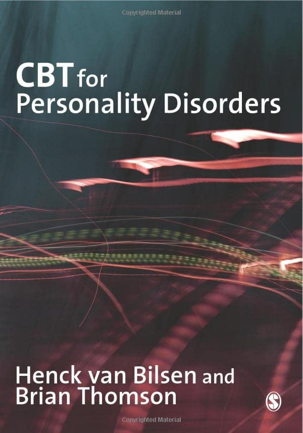 Cbt for Personality Disorders By Henck Van Bilsen