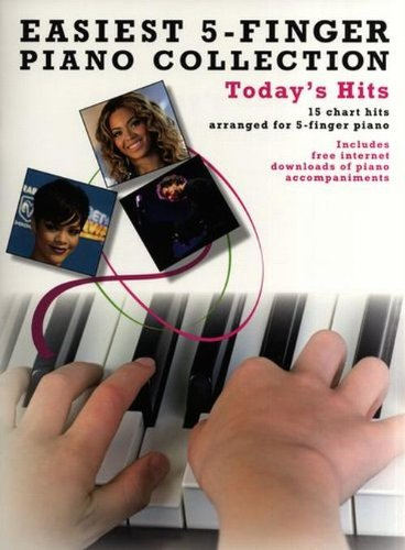 Easiest Five Finger Piano Collection By Various