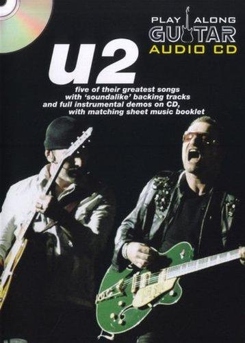 Play Along Guitar Audio Cd U2 Tab By Various