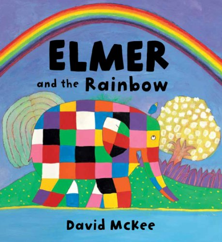Elmer and the Rainbow Board Book By David McKee