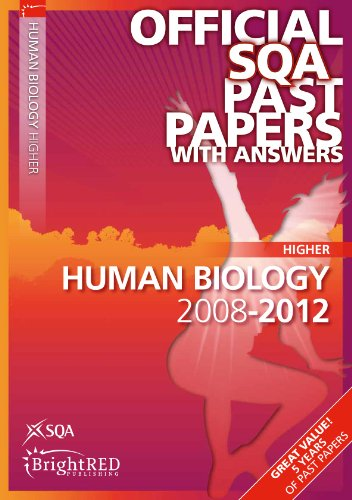 Human Biology Higher SQA Past Papers By SQA