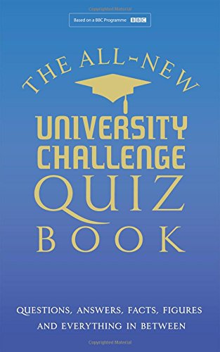 University Challange: The Ultimate Quiz Book by Steve Tribe