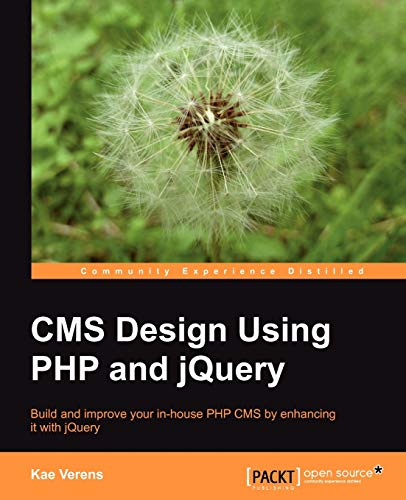 CMS Design Using PHP and jQuery By Kae Verens
