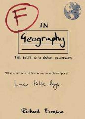 F in Geography by Richard Benson