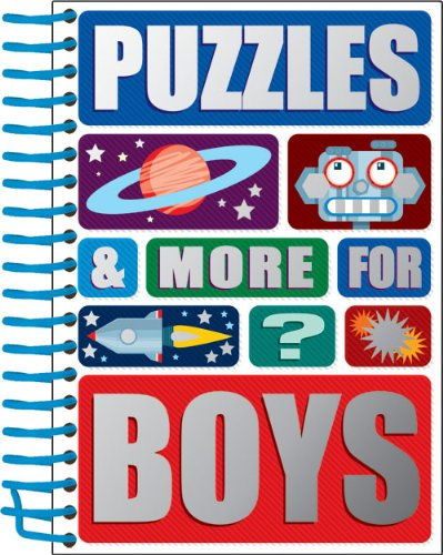 Puzzles and More for Boys By N/A