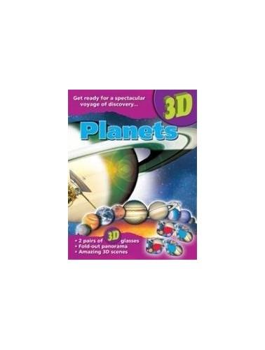 3D Books Planets by John Starke