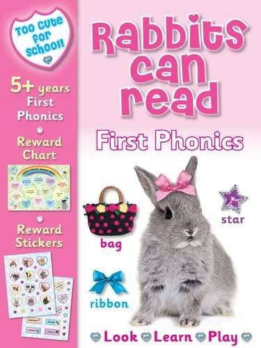 Too Cute for School - Rabbits Can Read By Nina Filipek