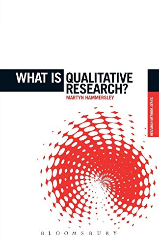 What is Qualitative Research? by Martyn Hammersley