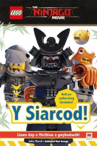 Cyfres Lego: 3. Siarcod, Y By Julia March