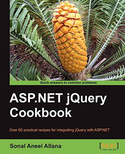 ASP.NET jQuery Cookbook By Sonal Aneel Allana