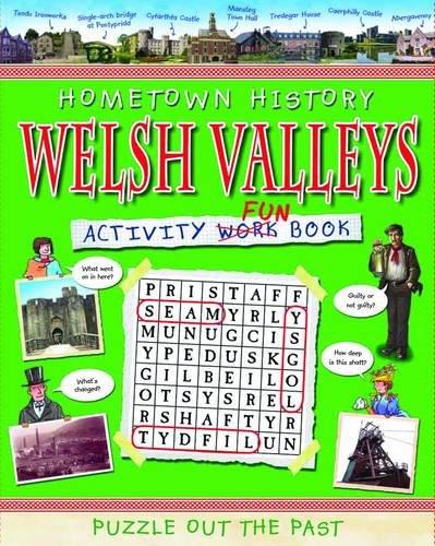 Welsh Valleys Activity Book By Kath Jewitt