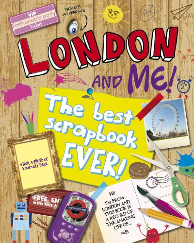 London & Me Scrapbook By Gemma Cary