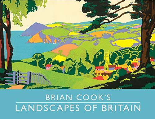 Brian Cook's Landscapes of Britain (Mini Edition) By Brian Cook