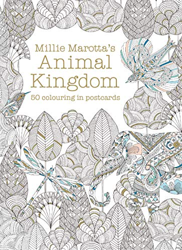 Millie Marotta's Animal Kingdom Postcard Box By Millie Marotta