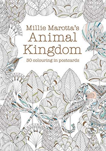 Millie Marotta's Animal Kingdom Postcard Book By Millie Marotta