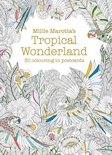 Millie Marotta's Tropical Wonderland Postcard Book By Millie Marotta