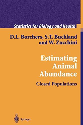 Estimating Animal Abundance By D.L. Borchers