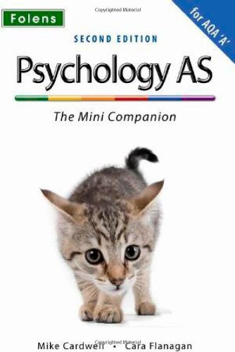 Complete Companions: AS Mini Companion for AQA A Psychology: ' by Mike Cardwell