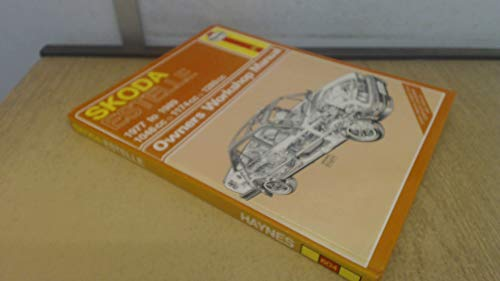 Skoda Estelle 1977-1989 Owner's Workshop Manual By Ian Coomber