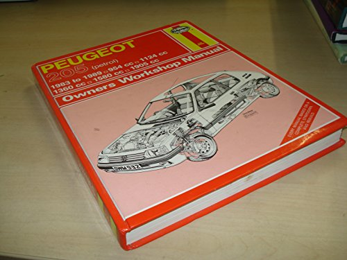 Peugeot 205 Owner's Workshop Manual By A. K. Legg