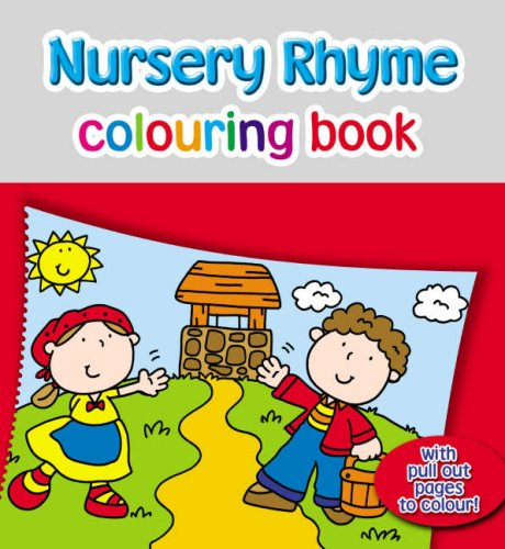 Nursery Rhyme Colouring Book by
