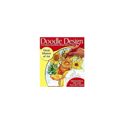 Doodle Design - The Ideal Colouring Book for all Ages - Great Masters of Art (85C)
