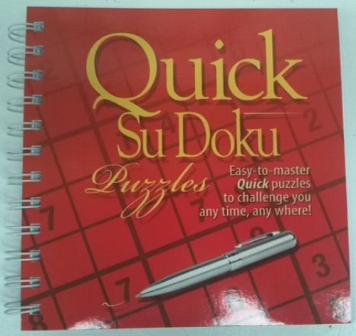Quick Sudoku Puzzles By Unknown
