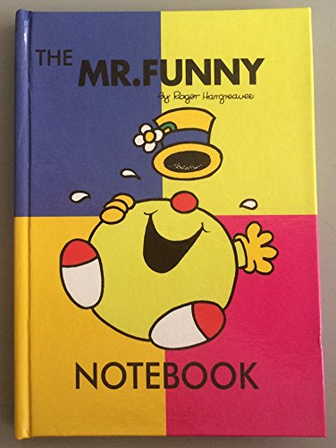 Mr Funny Notebook by Roger Hargreaves