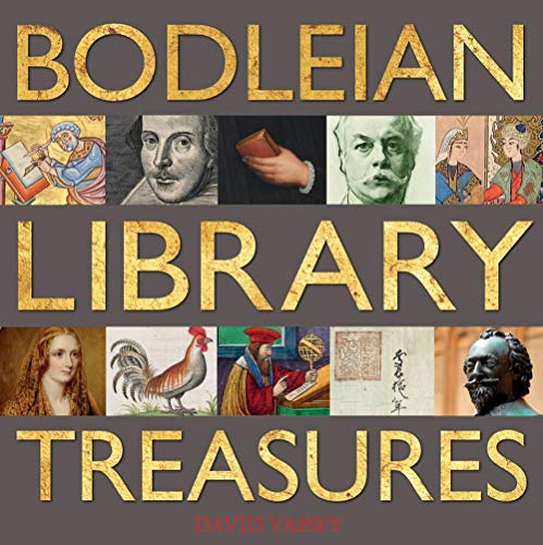 Bodleian Library Treasures By David Vaisey