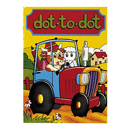 10 x Dot to Dot Activity Books A6 - Party Bag Fillers
