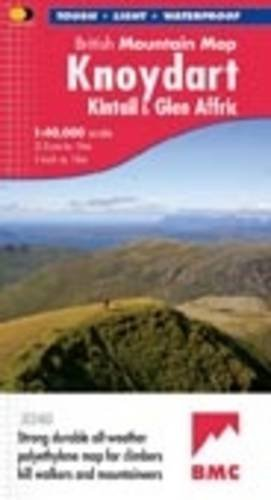 Knoydart and Kintail by Harvey Map Services Ltd.