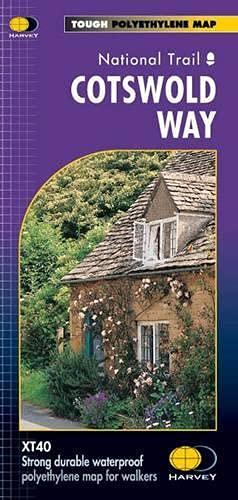 Cotswold Way XT40 By Harvey Map Services Ltd.