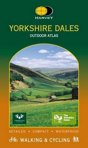 Yorkshire Dales Outdoor Atlas (Harvey Outdoor Atlas)