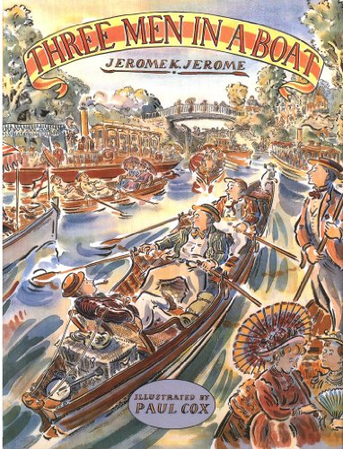 CLASSIC THREE MEN IN A BOAT By Jerome K Jerome