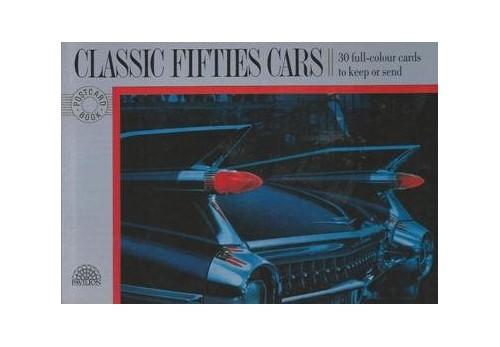 POSTCARD BOOK CARS By Varios
